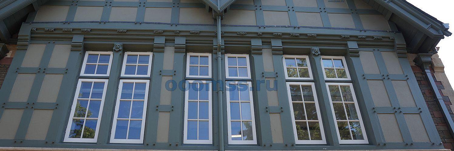 Отделка фасада в английском стиле
