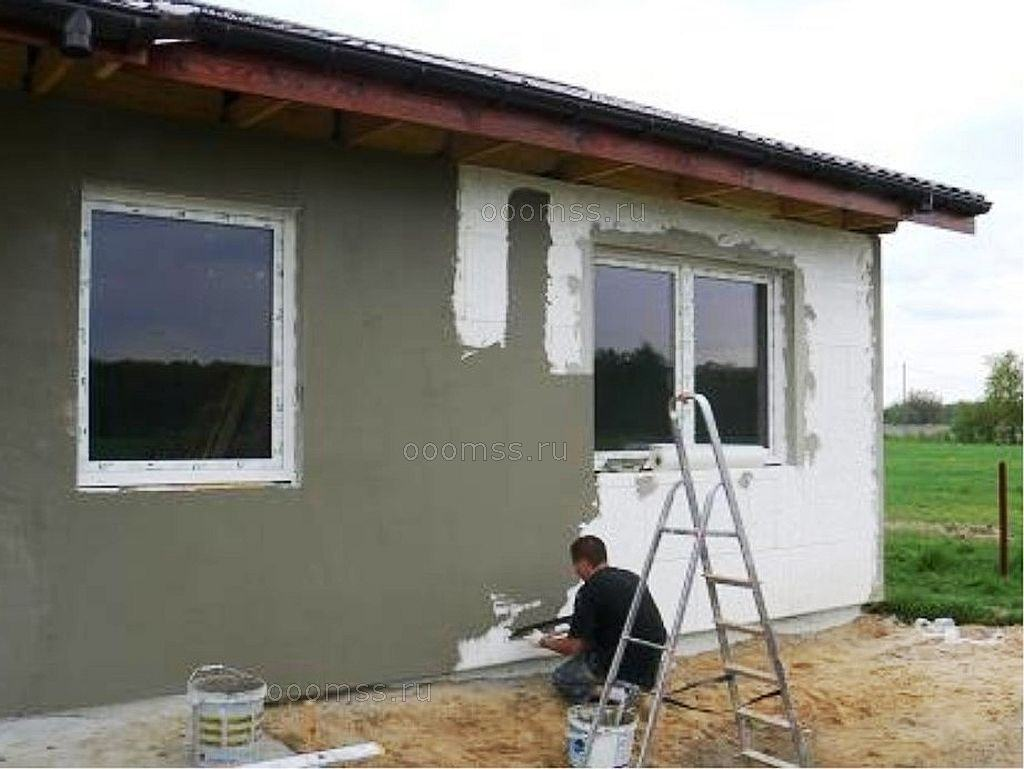 Как утепление фасада дома из бруса