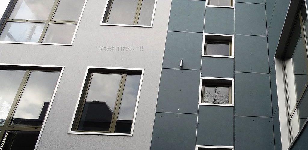 Вентилируемый фасад с утеплением и отделкой